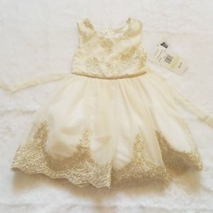NWT Toddler girl rare editions holiday dress